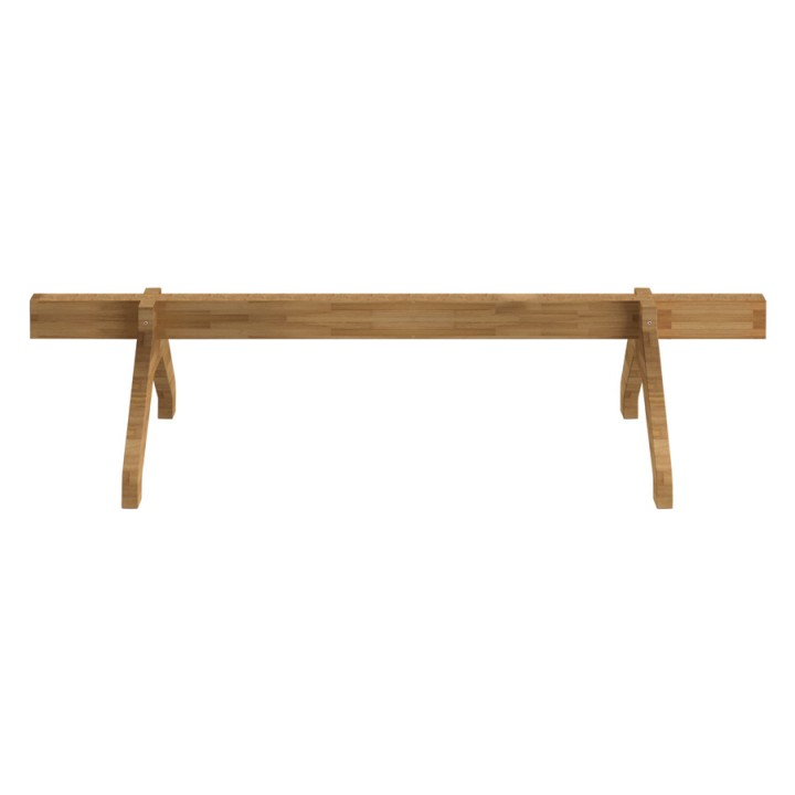 Olivia Wood Beam - Barra e gambe in legno per sedute e tavolini