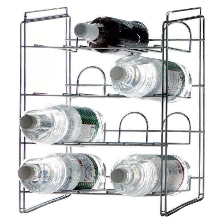 Cantina - Portabottiglie impilabile per 12 bottiglie