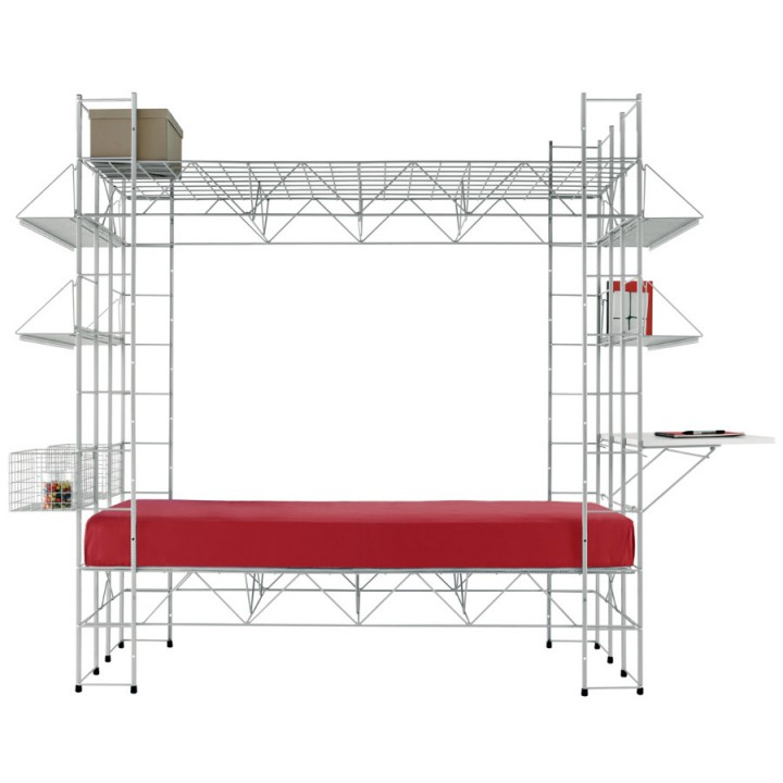 "Abitacolo (""Little House"") - Multifunctional bed, fully equipped composition"