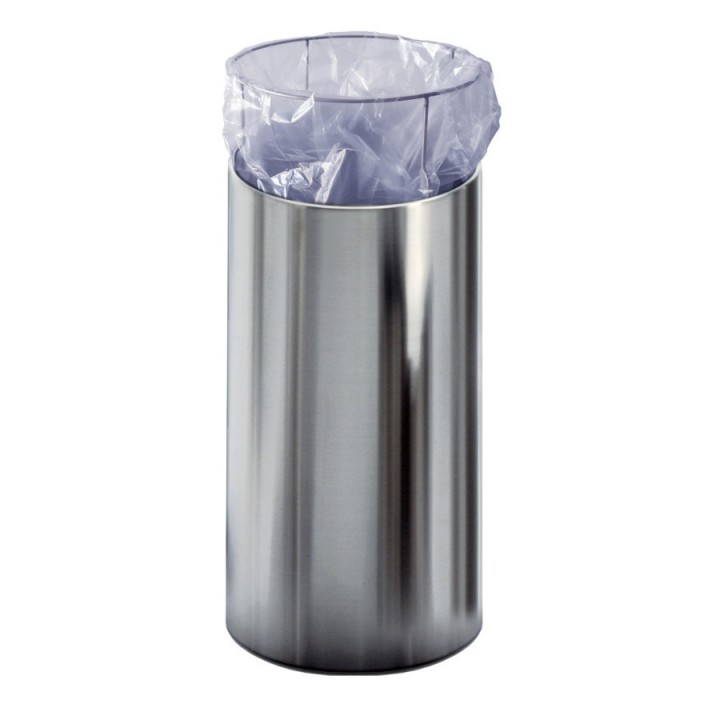 Nox - Tall waste basket with bag holder