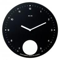 Appuntamento - Black - Pendulum wall clock