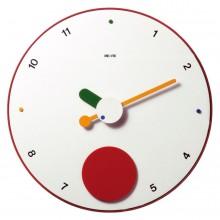 Contrattempo - White - Pendulum wall clock