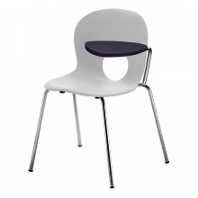 Olivia - Chair with left writing tablet, antipanic hinge